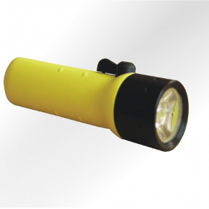 Lampe torche d'intervention LED pour casque pompier