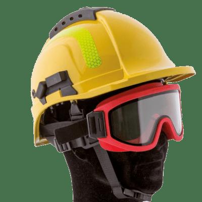 Masque résistant au feu