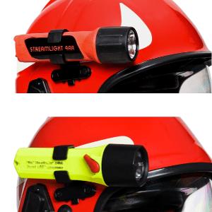 Support de lampe pour casque pompier