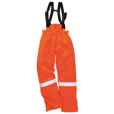 Surpantalon anti-flamme antistatique