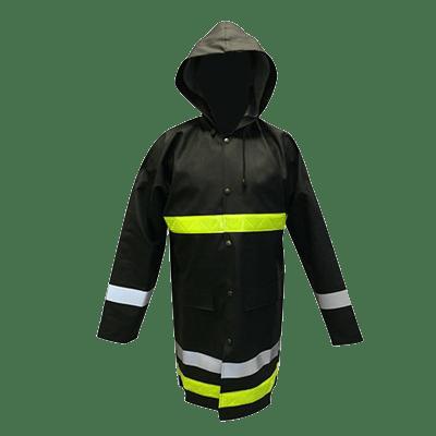 Veste de pluie pour sapeurs pompiers