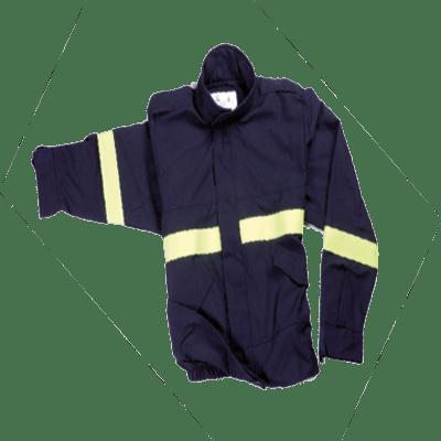 Veste pompier forestière d'intervention
