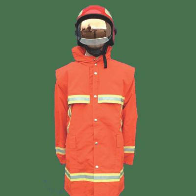 Veste ignifugée pour sapeurs pompiers
