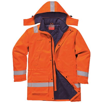 Veste anti-flamme antistatique