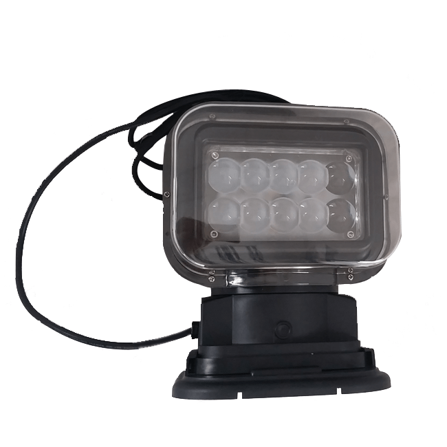 50W LED PROJECTEUR phare 360° motorisé