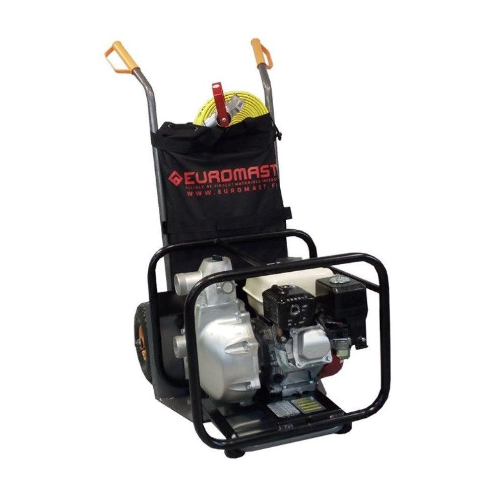 Motopompe incendie transportable avec accessoires intervention