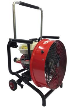 Cadre en acier de ventilateur