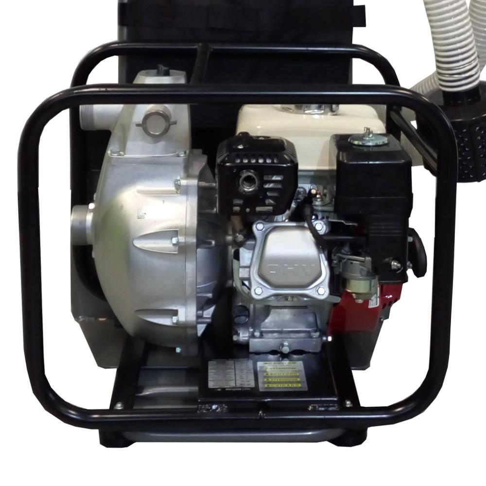 Pompe auto-amorcante pour la protection des foyers