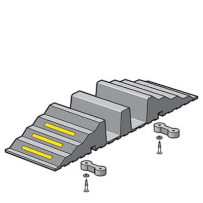 Rampe de franchissement pour tuyau