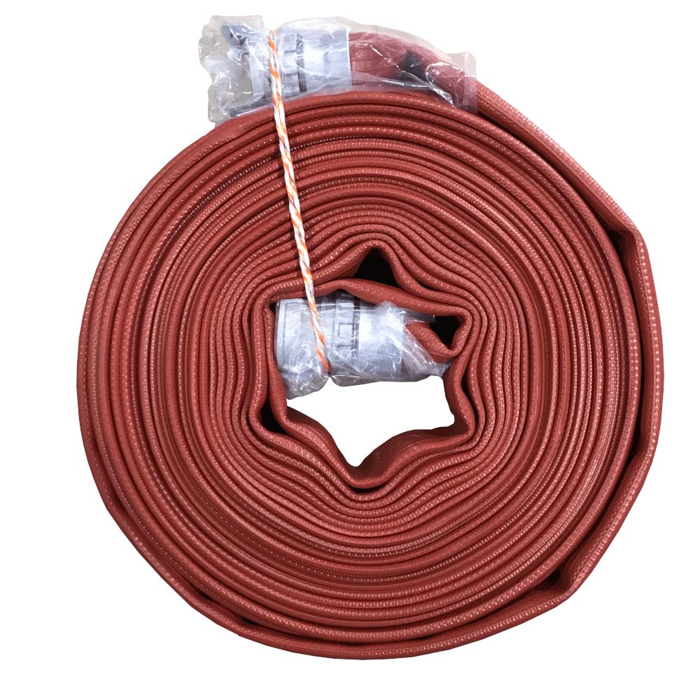 Tuyau souple de refoulement incendie flexible